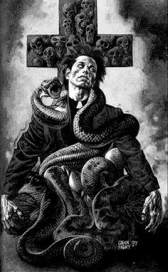 Jesse Custer #preacher #vertigo