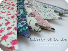 LITTLE KITTEN at home: Liberty of London Bunting which ........