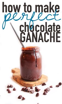 A step-by-step tutorial for vegan chocolate ganache. Click the photo to find out the secrets behind the perfect chocolate ganache.