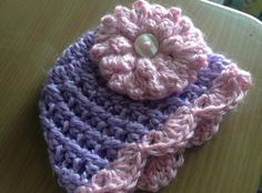Beautiful newborn baby girl hat. Great baby shower gift, newborn photography item of fashion accessory!! $15 & Free Shipping  in my Etsy shop now. http://www.etsy.com/shop/EmpireFive