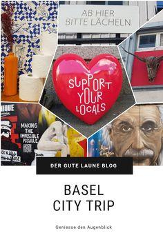Ein Sommerwochenende in Basel mit Unterkunft in einem ehemaligen Silo, einer Foodtour im kultigen Basel, Rhylax und toller Streetart. #lovebasel #basel Basel, Blog, City, Good Mood, Switzerland, Summer, Blogging, Cities