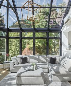 Dream Home Design, My Dream Home, House Design, Sun Room Design, Girl House, My House, Greenhouse Interiors, Glass Room, Diy Home Decor Projects