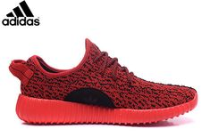 Men s Women s Adidas Yeezy Boost 350 Shoes Solar Red 1ae3027d37