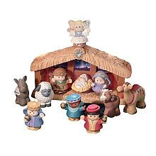 "Fisher-Price Little People Nativity Set - A Little People Christmas - Fisher-Price - Toys ""R"" Us-Hannah"
