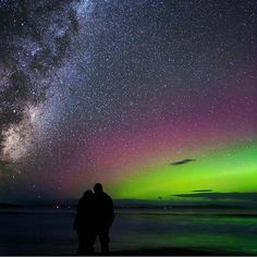 """Photo: @mattglastonbury Name: Aurora Australis aka the """"Southern Lights"""" Location: Seven Mile Beach Tasmania Australia  All week long we will be featuring Australia. Hashtag your best pictures/videos taken in #australia with #luxwt or #luxuryworldtraveler for a chance to be featured.  """"Dream Big Eat Well & Travel On""""  by luxuryworldtraveler"""