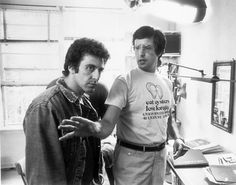 William Friedkin directing Al Pacino in CRUISING released 35 years ago today.