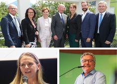Seit Sonntag steht die personelle Zusammensetzung der neuen Salzburger Landesregierung fest. Fünf der sieben Sitze wird in der kommenden Legislaturperiode die ÖVP stellen, jeweils einen die Grünen und die NEOS.