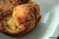 Panera- like Spinach & Bacon Baked Egg Souffle <3