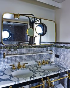 Viceroy New York Suite Bathroom - Roman and Williams