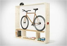 16 Minimalist Indoor Bike Racks - From Sleek Bicycle Wall-Mounts to Minimalist…