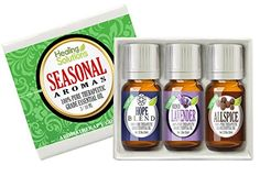 The Seasonal Aromas Set includes the following oils: Allspice (Pimento) French Lavender and Hope   The Leading Aromatherapy Associations (Alliance of International Aromatherapists (AIA) Internati...