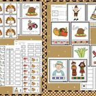 EXCELLENT COMPLETE UNIT FOR NOVEMBER.  This unit is packed with ideas and activities for all your small group, whole group, and RTI needs.  There are  many ideas for centers and they are...