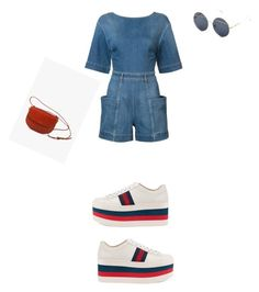 """Untitled #559"" by aayushi3912 ❤ liked on Polyvore featuring STELLA McCARTNEY, Gucci and A.P.C."