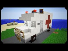 ✔ Minecraft: How to make an Ambulance - YouTube