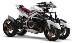 Yamaha Tesseract Hybrid, Motorcycle for Superheroes/Badasses/Us?/No