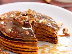 Apple Walnut Protein Pancakes recipe
