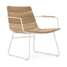 WILLIAM LOUNGE CHAIR                  -                                Gloster                  -                                Featured Brands                  -                                More Ways to Shop Teak Furniture, Modern Furniture, Outdoor Furniture, Modern Outdoor Chairs, Outdoor Decor, Folding Chair, Hardwood, Lounge, Interior Design