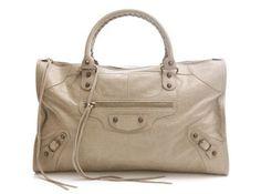 Balenciaga beige suede handbags 2012, Bandand
