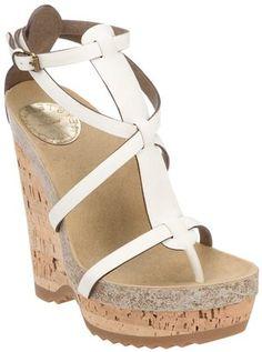 ShopStyle: Stella Mccartney wedge heel sandal