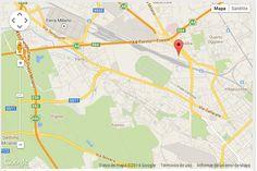 Mapa Hotel Barcelo Milán