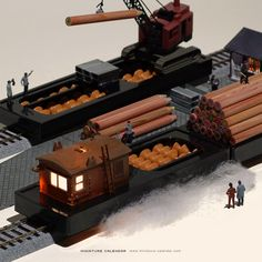 "Freight Train.  Abacus = number to depart. Today is ""Railway Day""."