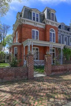 1836/1878 Second Empire - Columbia, PA - $485,000 - Old House Dreams
