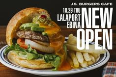 EVENT: 10.29(木) ららぽーと海老名にNEW OPEN !! | J.S. BURGERS CAFE 公式ブログ