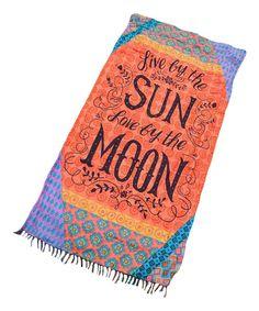 Sun & Moon Beach Towel Blanket