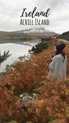 Somewhere outside Achill Island in Ireland's Mayo County on the Wild Atlantic Way - Achill Island Travel Guide #Ireland #WildAtlanticWay #MayoCounty #CountyMayo #AchillIsland #autumn