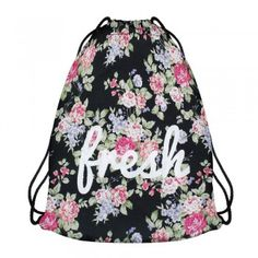 Modefreund TrendPrints Turnbeutel - Fresh Flowers