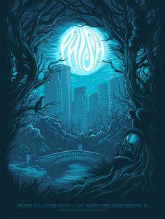 Dan Mumford Phish New York Poster MSG Artist Edition Release
