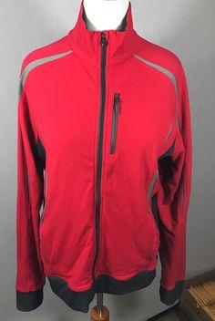 LULULEMON athletic full zipper top Jacket Reddish Orange Large Yoga Running #Lululemon #ShirtsTops