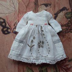 Vintage collection Linen Dress for Blythe