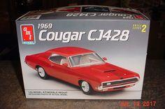 1969 Mercury Cougar CJ428 1/25 AMT 1992 6529 #AMT