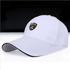 11c87ccc375 Cotton cap with an applied logo above the brim that says  Good Luck . Wear  this on the golf course and look like a pro!
