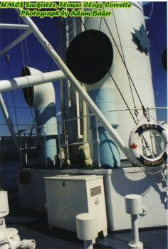 Superstructure and Fittings : HMCS Sackville, Canadian Flower Class Corvette, Halifax, Canada