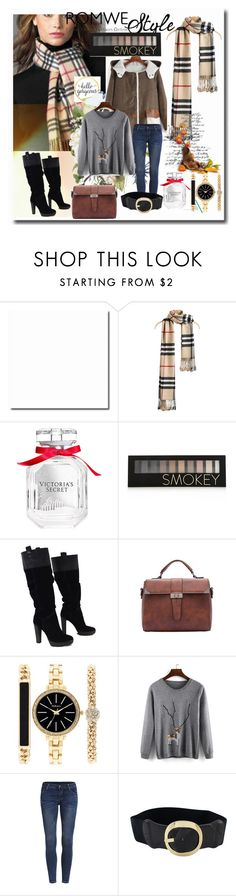 """Check Print Tassel Scarf"" by sorevgen-1 ❤ liked on Polyvore featuring Victoria's Secret, Forever 21, BCBGMAXAZRIA, Style & Co., romwe and crazyforfashion"