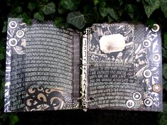 ALTERED NOTEBOOK altered books and journals #journal