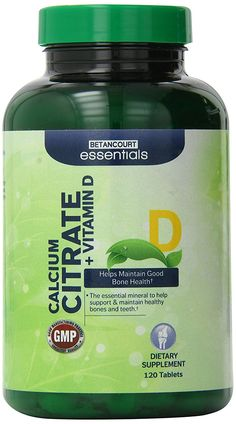 Betancourt Essentials Calcium Citrate Plus Vitamin D Maintains Healthy Bones and Teeth/Mineral, 120 Count >>> Check out the image by visiting the link. Calcium Citrate, Vitamin D, Teeth, Bones, Minerals, Count, Essentials, Healthy, Link