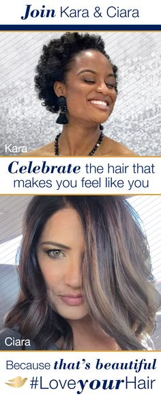 The most beautiful thing about these women—their confidence. Dove Hair believes that beautiful hair is the hair that makes you feel confident. So whether it's wavy, curly, coily, or straight, #LoveYourHair because it's yours. See more beautiful hair at Pinterest.com/DoveHair.