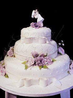 Bolo de casamento - Fotos - Para Casamento