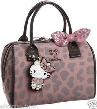 Hello Kitty x Che Che NewYork 2Way Tote Bag Handbag Shoulder Purse Japan F/S