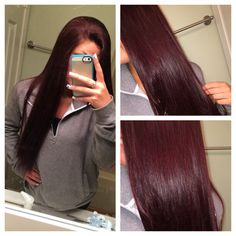 Burgundy Hair- obsessed with this color. Hair Colorful, Bright Hair, Hair Color And Cut, Big Chop, Ombre Hair, Blonde Hair, Brazilian Hair, Fall Hair, Wig Hairstyles