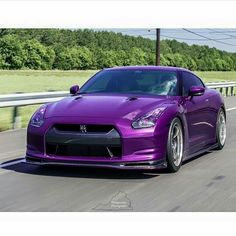 Nissan GTR #Purple