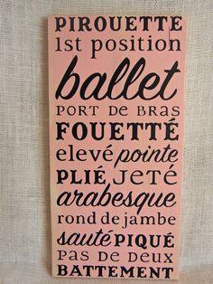 I miss ballet..