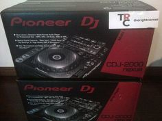 Item Description    CDJ-2000nexus Professional Multi Player, 1 PAIR.    Pioneer's flagship CDJ player, the CDJ-2000nexus, offers exciting features and technologies including industry-first Wi-Fi connectivity, compatibility with Pioneer's new rekordbox App for iPhone, iPad, iPod touch, Android tablets, and smartphones, and new functions such as Beat Sync, Wave Zoom and Slip. Newly enhanced features inherited by the CDJ-2000nexus include a selection screen interface for a more intuitive music…