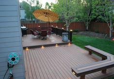 Ordinaire Awesome Deck And Patio Ideas For Small Backyards Images Ideas. Landscaping  Gallery At Deck And Patio Ideas For Small Backyards