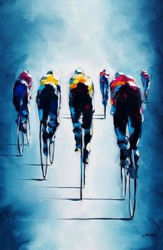 Cycling For The Great Of You And Also The Environment - Bike riding Cycling Art, Road Cycling, Cycling Bikes, Bicycle Painting, Bicycle Art, Bike Illustration, Bike Poster, Bicycle Maintenance, Bike Style