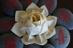 PDF Instructions Origami Lotus Flower by bingshan on Etsy, $4.99