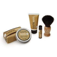 Look what I found at UncommonGoods: Napa Man Shaving Gift Set for $55 #uncommongoods